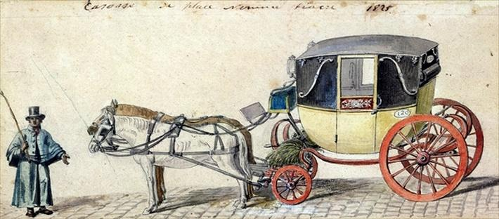 Horse and Carriage, 1825