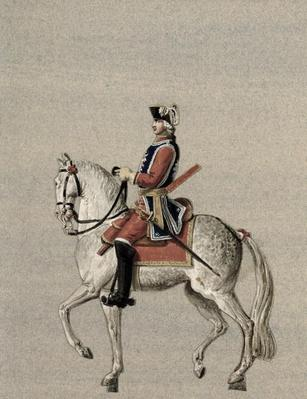 Equestrian portrait of Prince Charles de Beauveau-Craon