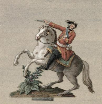Equestrian portrait of Prince Charles-Just de Beauveau-Craon
