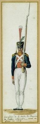Grenadier of the Guard of Alexander I