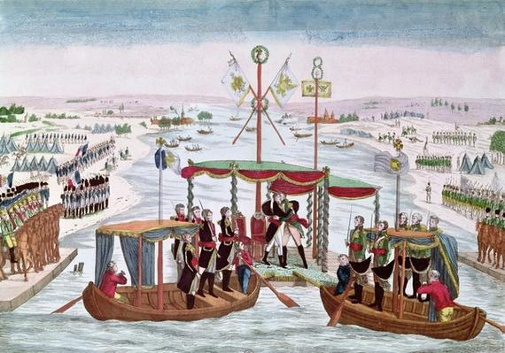 The Meeting between Napoleon I