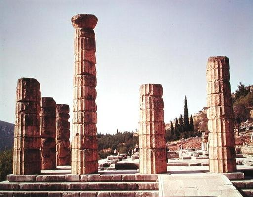 Ruins of the Temple of Apollo