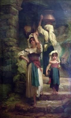Women of Cervara, 1858