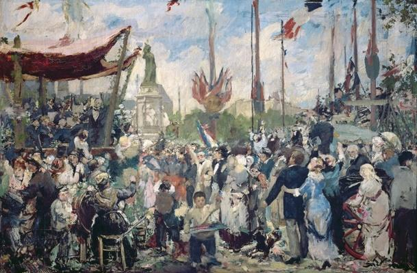 Study for 'Le 14 Juillet 1880', 1880-84