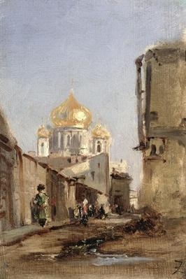 Study of Tobolsk, 1842