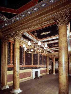 View of the Pompeiian Hall, 1782-1802