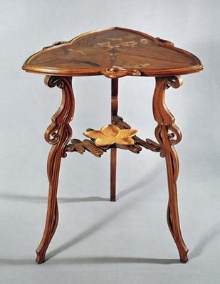 Nenuphar side table, c.1900
