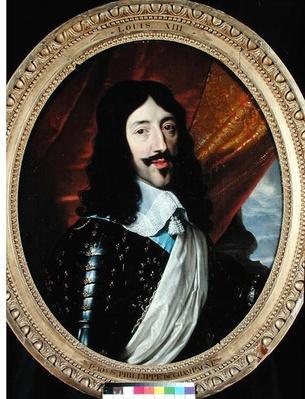 Portrait of Louis XIII