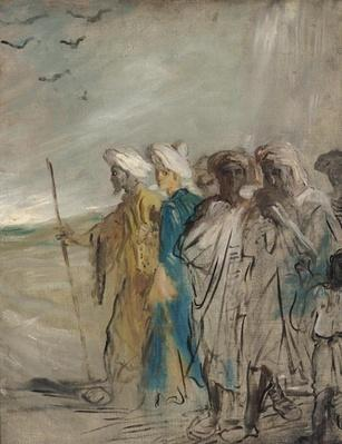 Group of Arabs or, Joseph Sold by his Brothers