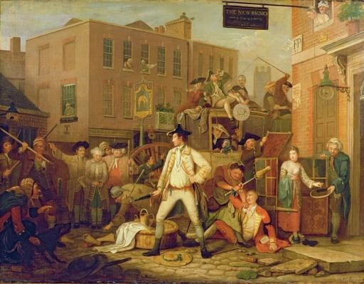 Scene in a London Street, 1770