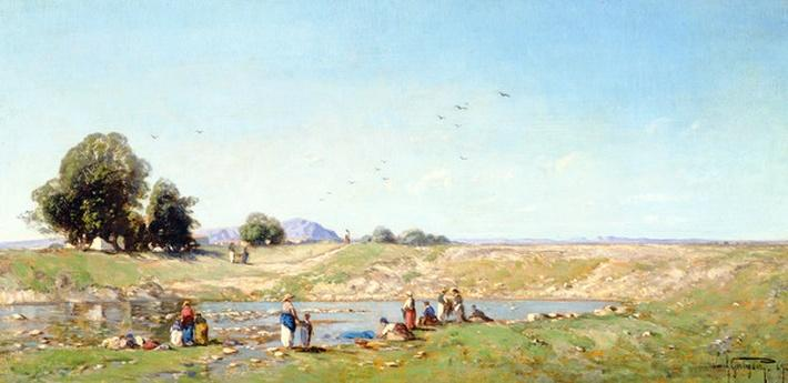 The Durance Valley, 1867