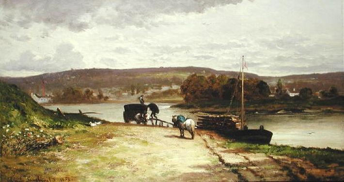 River Landscape, 1837