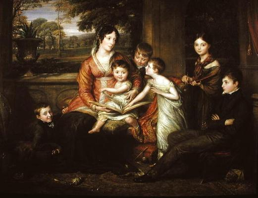 Lady Torrens and Her Family, 1820