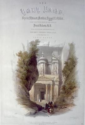Frontispiece to 'The Holy Land', engraved by Louis Haghe