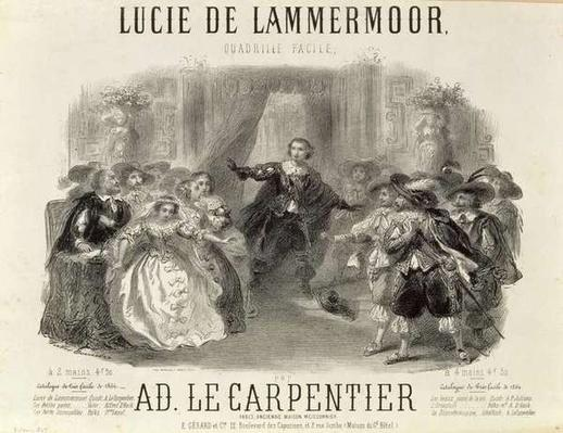 'Lucia de Lammermoor' the opera by Domenico G M Donizetti