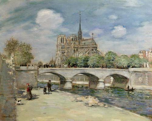 Notre Dame de Paris, c.1900