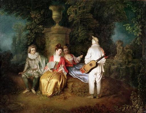 The Foursome, c.1713