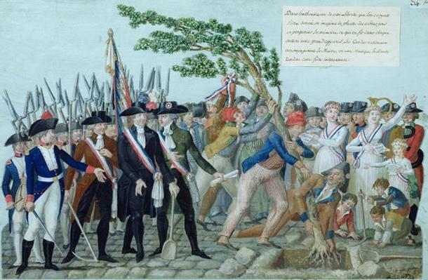 The Planting of a Tree of Liberty, c.1789