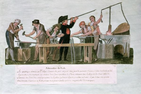Rifle Makers' Workshop, 1793