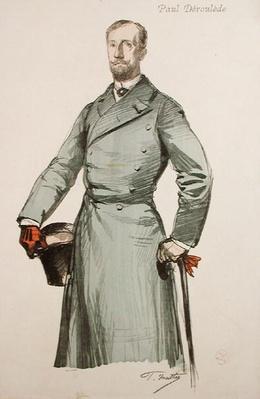 Portrait of Paul Deroulede