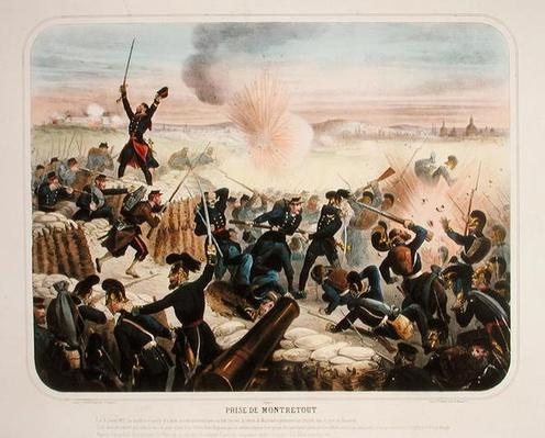 The Siege of Montretout, 19th January 1871