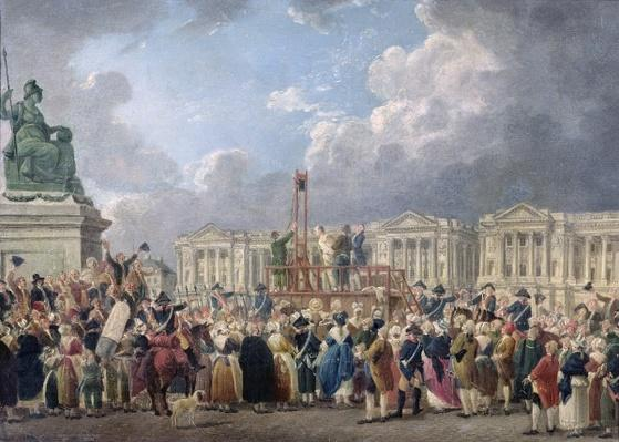 An Execution, Place de la Revolution, between August 1793 and June 1794