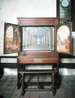 English Chamber Organ, 1630
