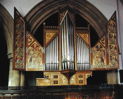 The Sutton Organ, from the chapel