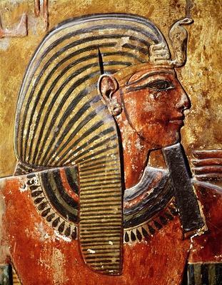 The head of Seti I