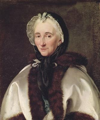 Portrait of Madame Francoise de Graffigny