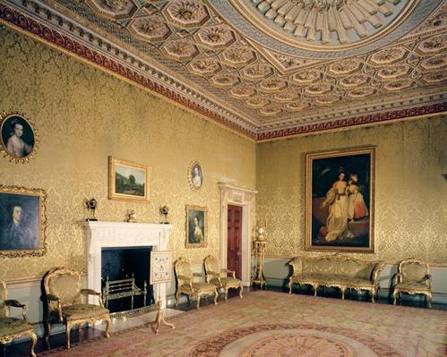 Drawing-room by Adam, c.1770-80