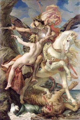 The Deliverance: Ruggiero and Angelica, 1876