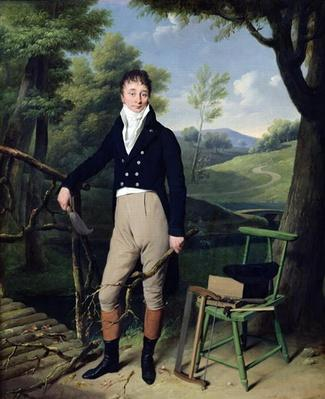 Portrait of a Man, possibly Monsieur d'Aucourt de Saint-Just, c.1800