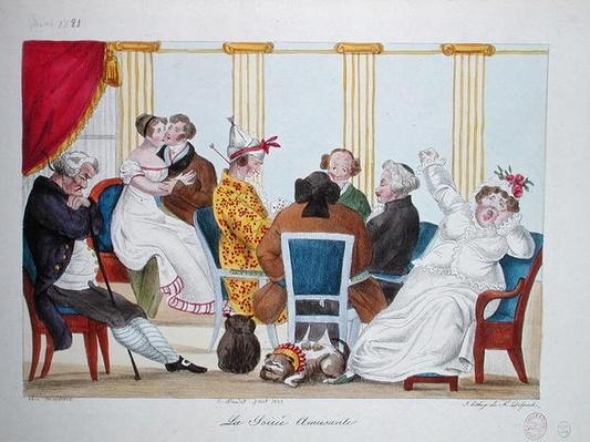 The Amusing Evening, 1821