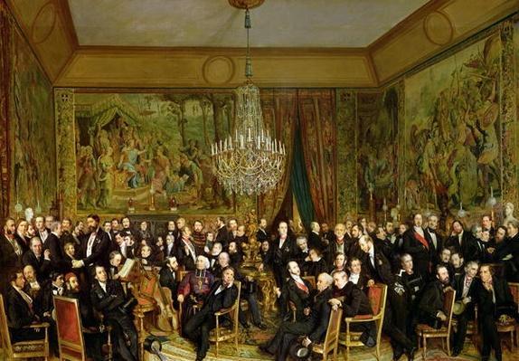 The Salon of Alfred Emilien, Comte de Nieuwerkerke