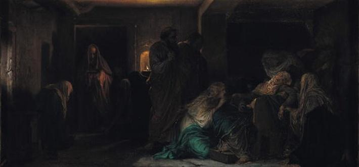 The Virgin Fainting, 1856