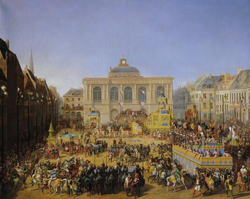 The Kermesse at Saint-Omer in 1846