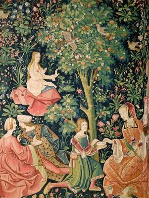 La Vie Seigneuriale: Scene Galante, c.1500