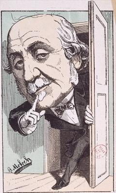 Caricature of Albert, Duc de Broglie