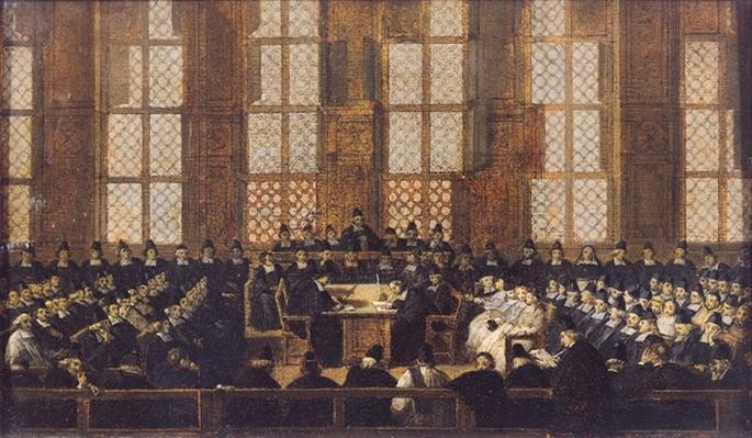 The Appeal of the Dissident Bishops at the Sorbonne, 5th March 1717