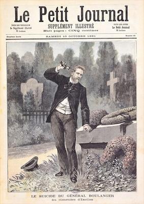 The Suicide of General Georges Ernest Boulanger