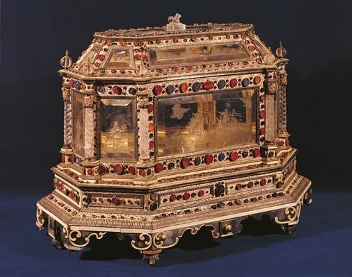 Marriage coffer, 1753