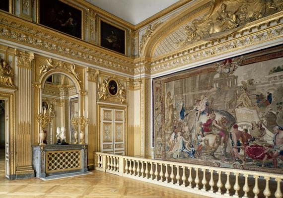 The bedchamber of Louis XIV