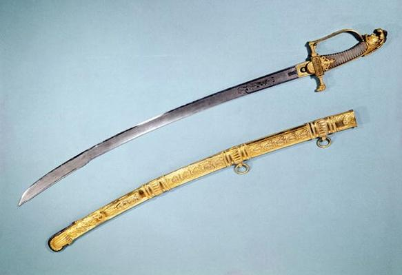 Sword given to Napoleon I