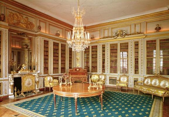 The library of Louis XVI