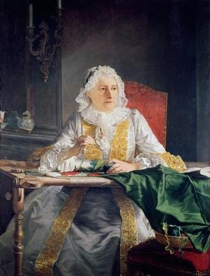 Portrait of Madame Antoine Crozat, 1741
