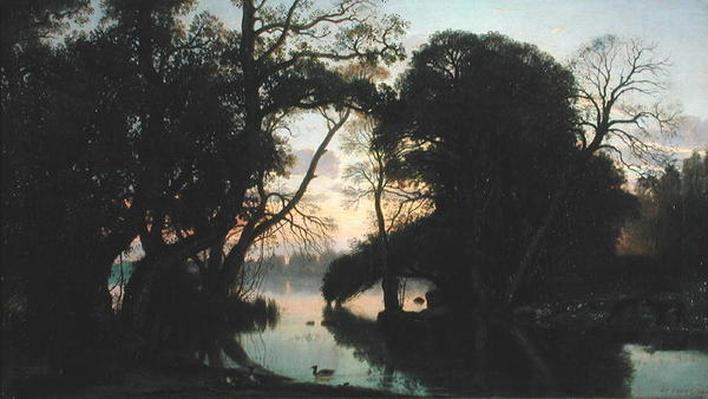 An Autumn Evening, 1852
