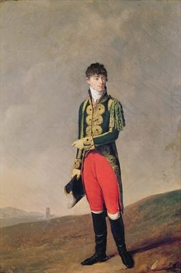 Baron de Galz de Malvirade in the uniform of the Emperor's page