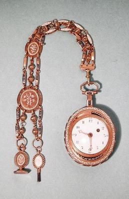 Watch given by Marie Antoinette