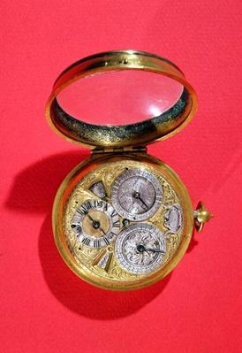Calendar watch, c.1690